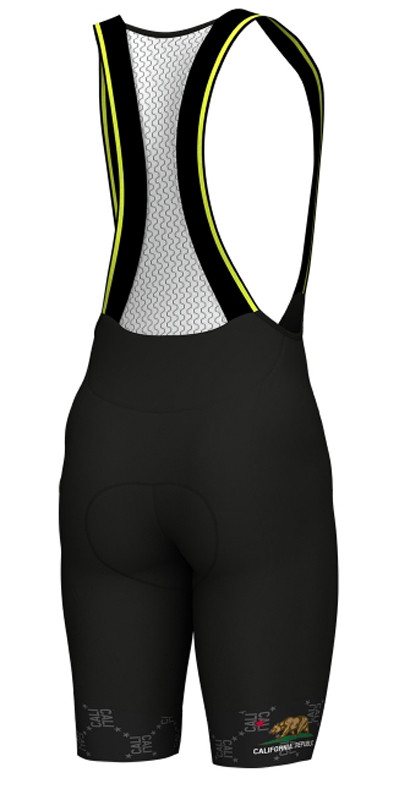 ALE California Republic Bib Shorts Rear