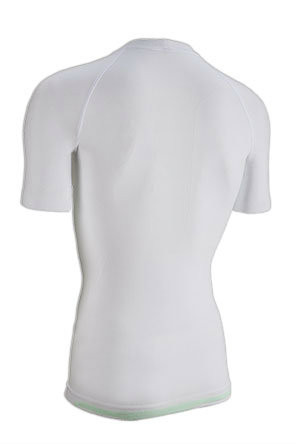 Nalini Air Base Layer White Jersey Rear