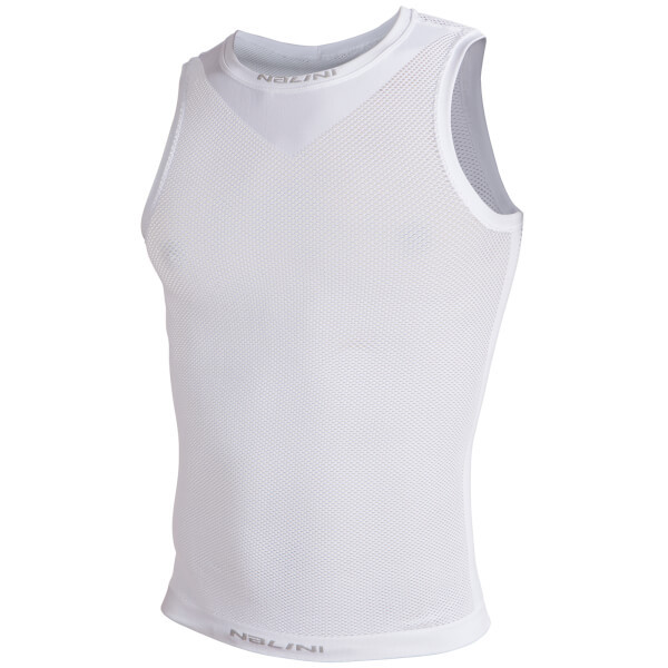 Nalini Mandes Mesh Layer White Baselayer Sleeveless Jersey