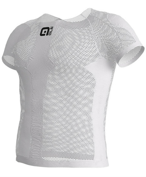 ALE' Mesh White Base Layer Jersey