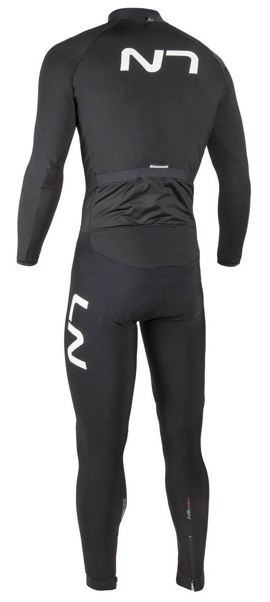 Nalini Nalini Nanodry Thermosuit Thermal Skin Suit Rear