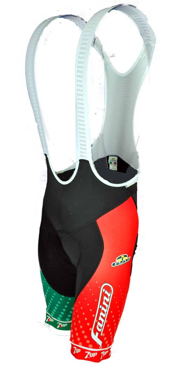 Seven Up Fanini Retro Bib Shorts Rear