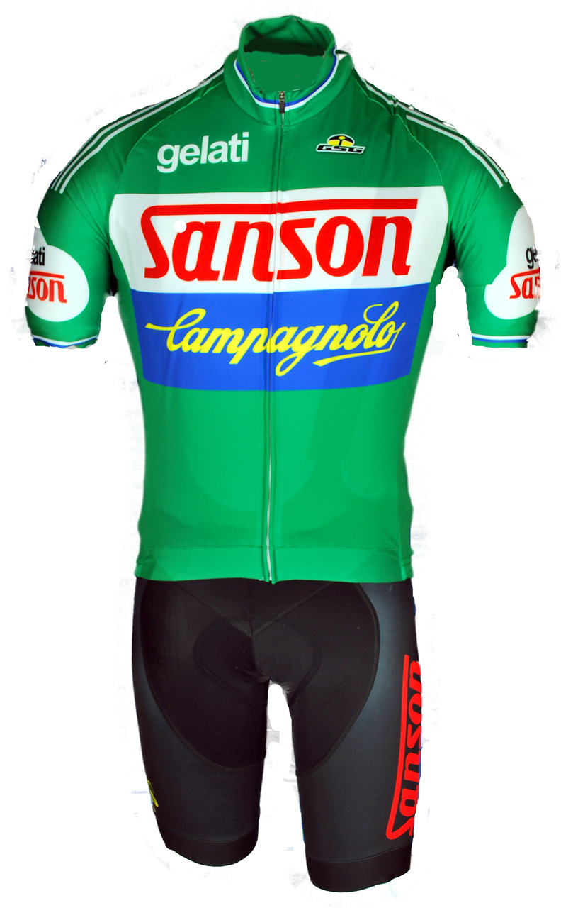 Gelati Sanson Campagnolo Full Zipper Retro Jersey