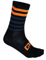 ALE QSkin Summer 6 Inch 16 CM High Speed Fondo Orange Socks