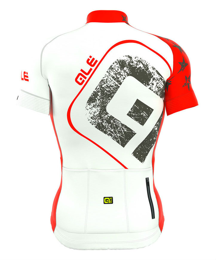ALE Stars and Stripes PRR Red Jersey Rear