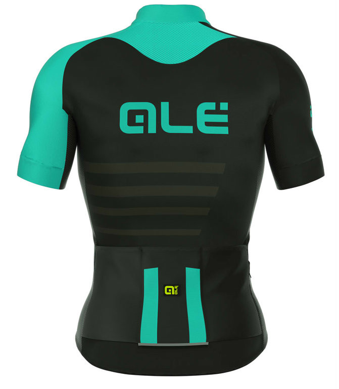 ALE Piuma Climber Vented R-EV1 Turquoise Jersey Rear