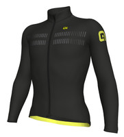 ALE Warm Air R-EV1 2.0 Black Long Sleeve Jersey