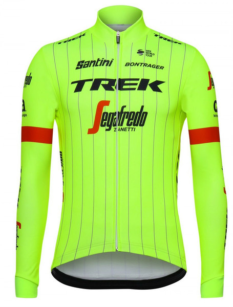 2018 Trek Segafredo Fluo Long Sleeve Jersey