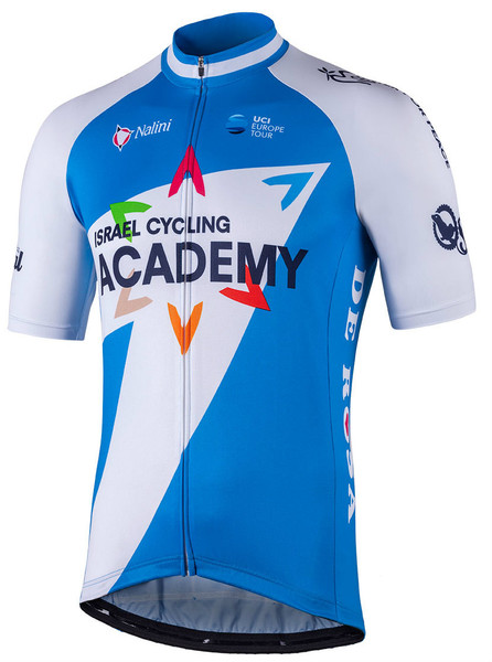 2018 Israel Cycling Academy Full Zip Jersey