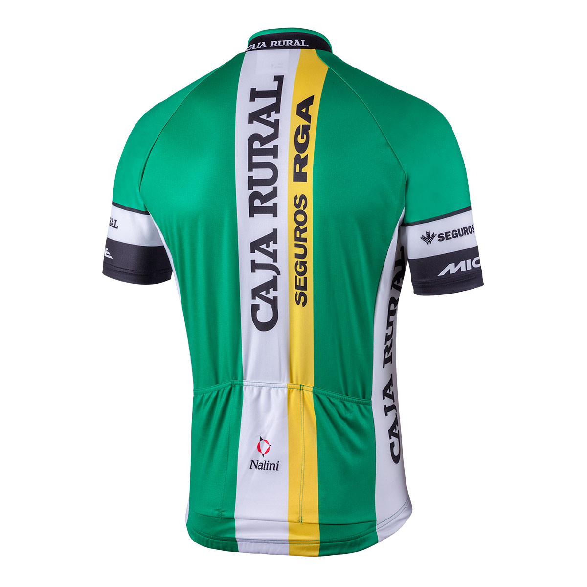 ... 2018 Caja Rural Full Zip Jersey Rear b32ebe7c1
