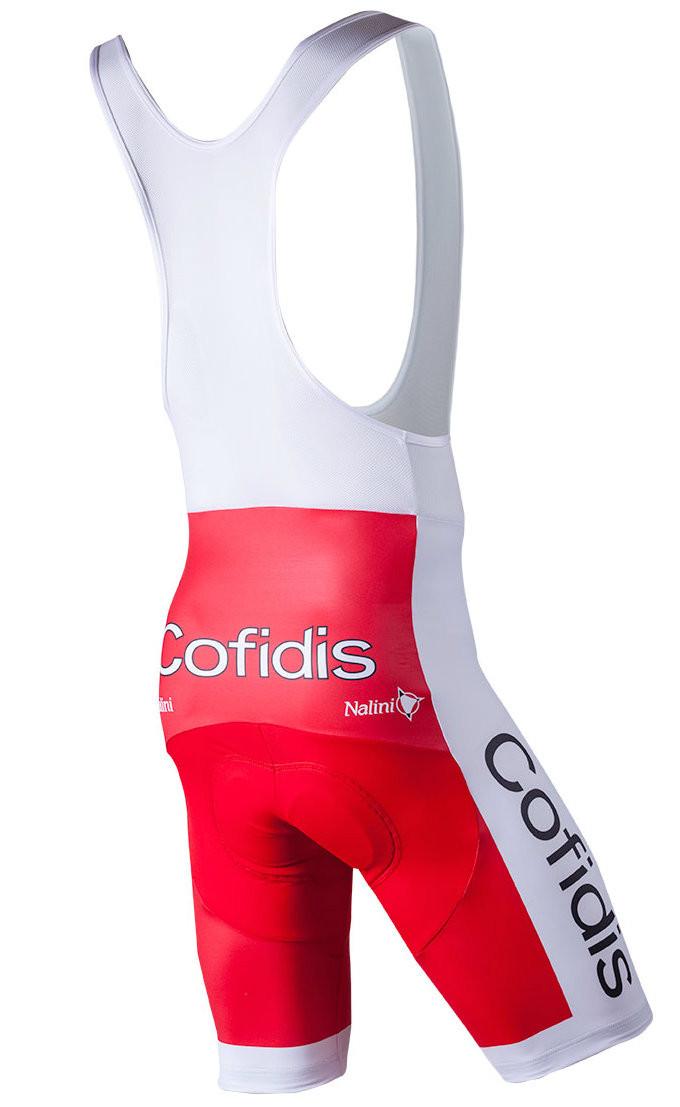 2018 Cofidis Bib Shorts Rear