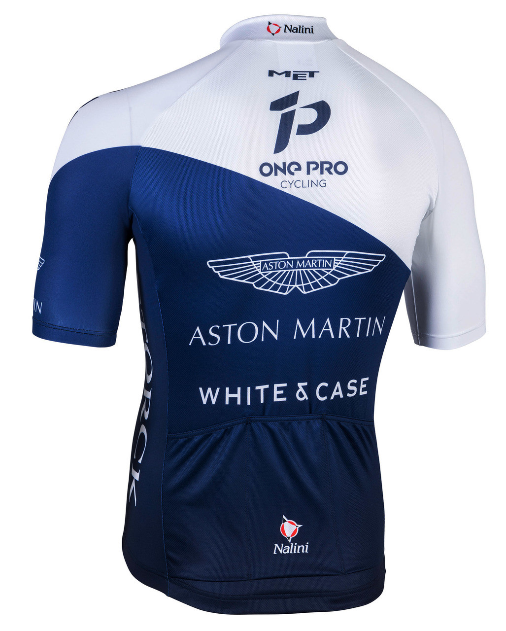 2018 One Pro Aston Martin Full Zip Jersey Rear