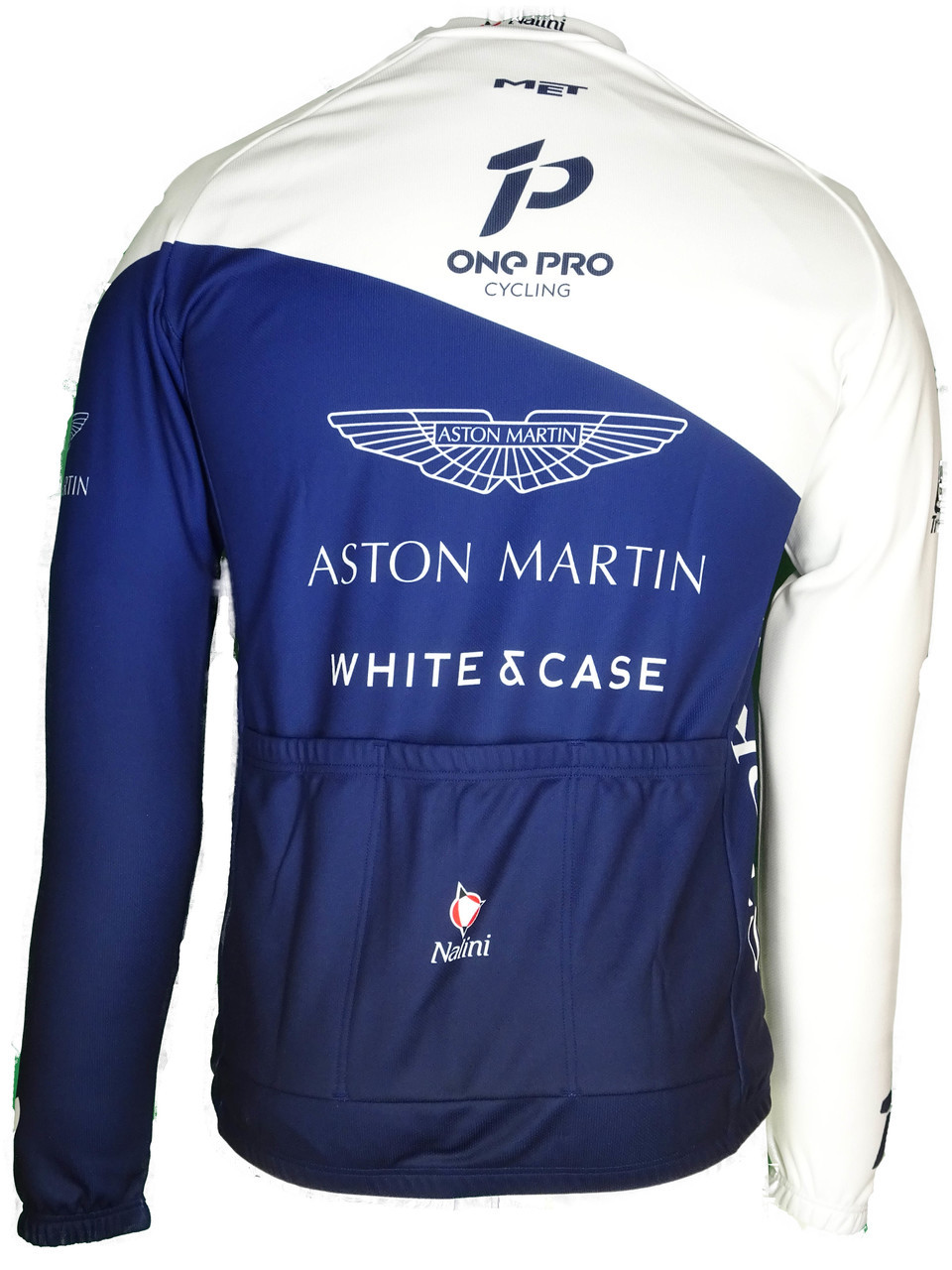 2018 One Pro Aston Martin Long Sleeve Jersey Rear