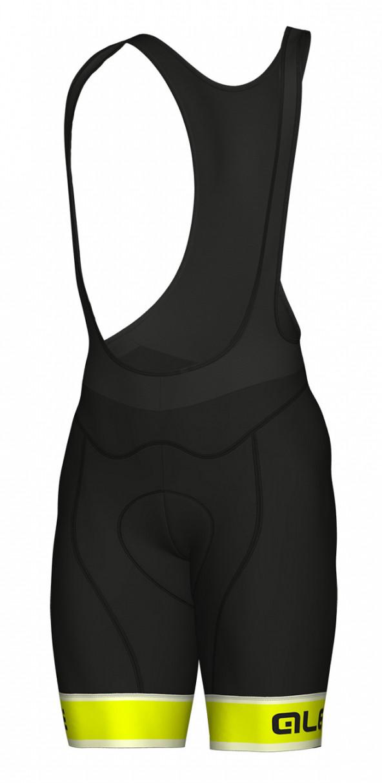 ALE' Sella PRR Fluo Bib Shorts Rear