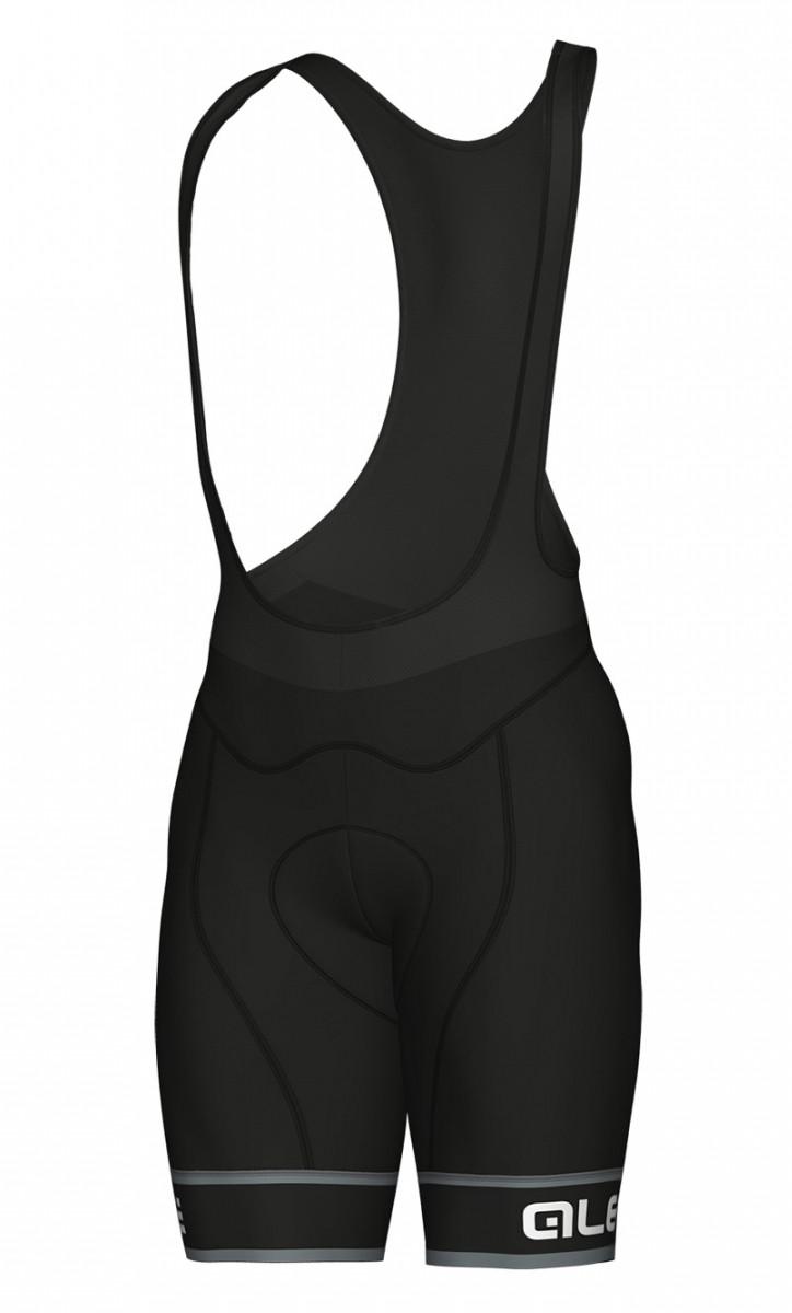 ALE' Sella PRR Black Bib Shorts