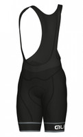 ALE' Sella PRR Black Bib Shorts