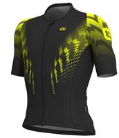 ALE' Pro Race R-EV1 Aero Skinsuit Style Yellow Fluo Jersey