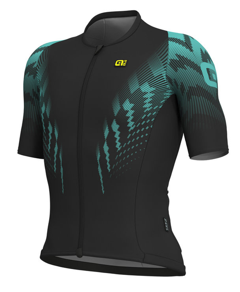 ALE' Pro Race R-EV1 Aero Skinsuit Style Turquoise Jersey