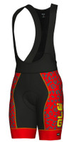 ALE' Aguato PRR Red Bib Shorts