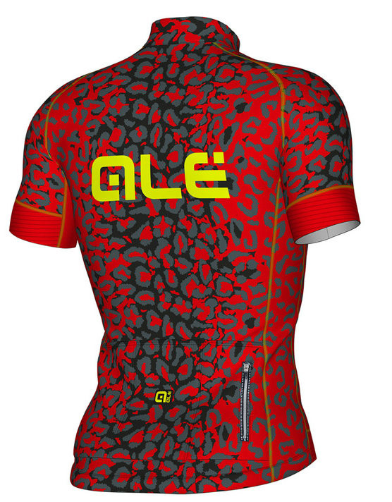 ALE' Aguato PRR Red Jersey Rear