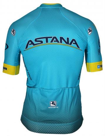 2018 Astana FRC Pro FZ Jersey Rear