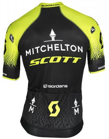 2018 Michelton Scott FRC Pro FZ Jersey Rear