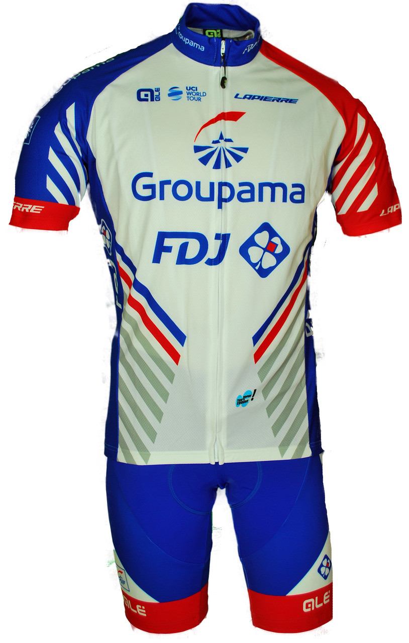 2018 Groupama FDJ Full Zipper Jersey