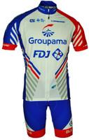 2018 Groupama FDJ Full Zipper Jersey