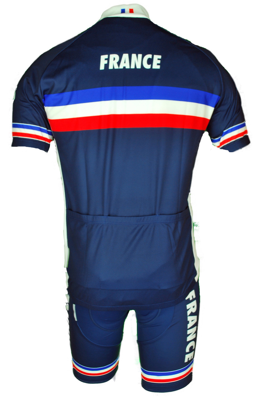 online store 776e9 24b27 2018 French Cycling Federation Full Zipper Jersey