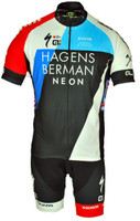 2018 Team Hagens Berman Axeon Full Zipper Jersey
