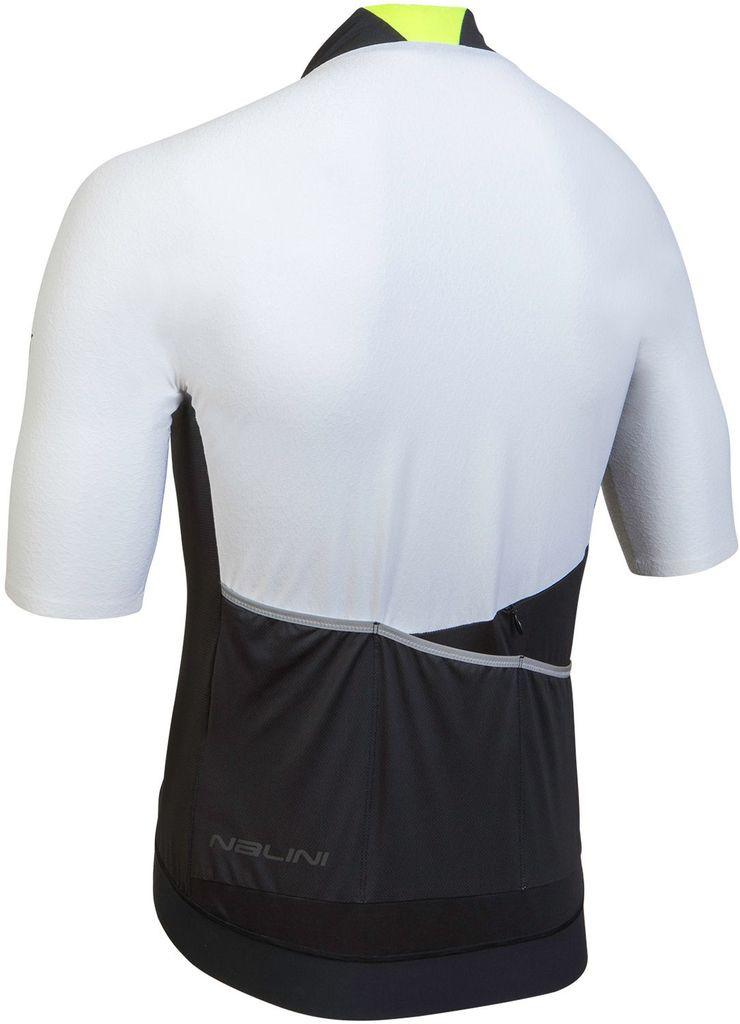 Nalini Stelvio White Jersey  Rear