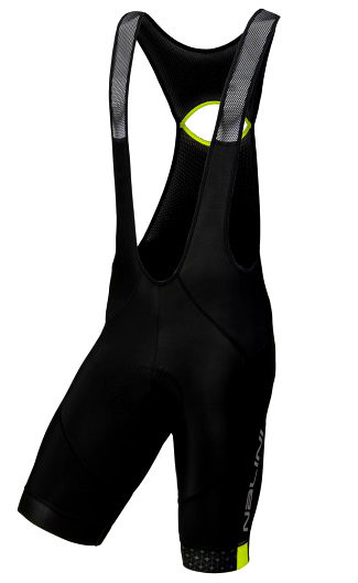 Nalini Scatto Yellow Fluo Bib Shorts