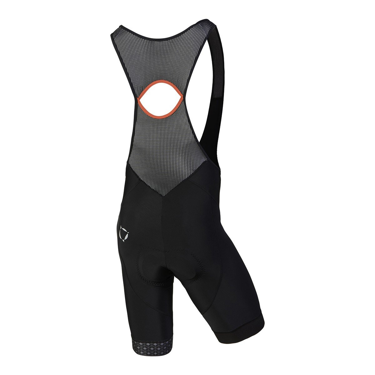 Nalini Scatto Red Bib Shorts Rear