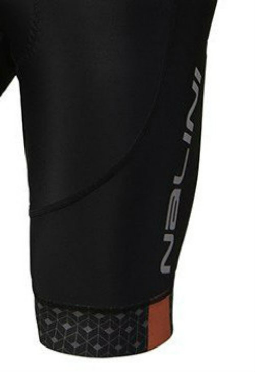 Nalini Scatto Red Bib Shorts Close Up