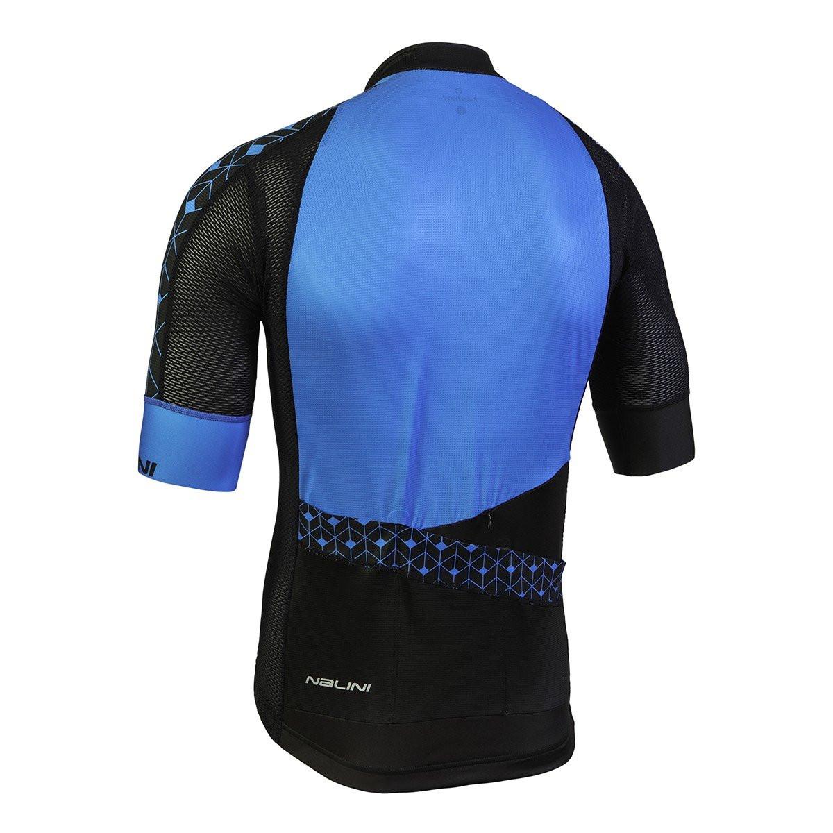 Nalini Velocita Blue Black Jersey Rear