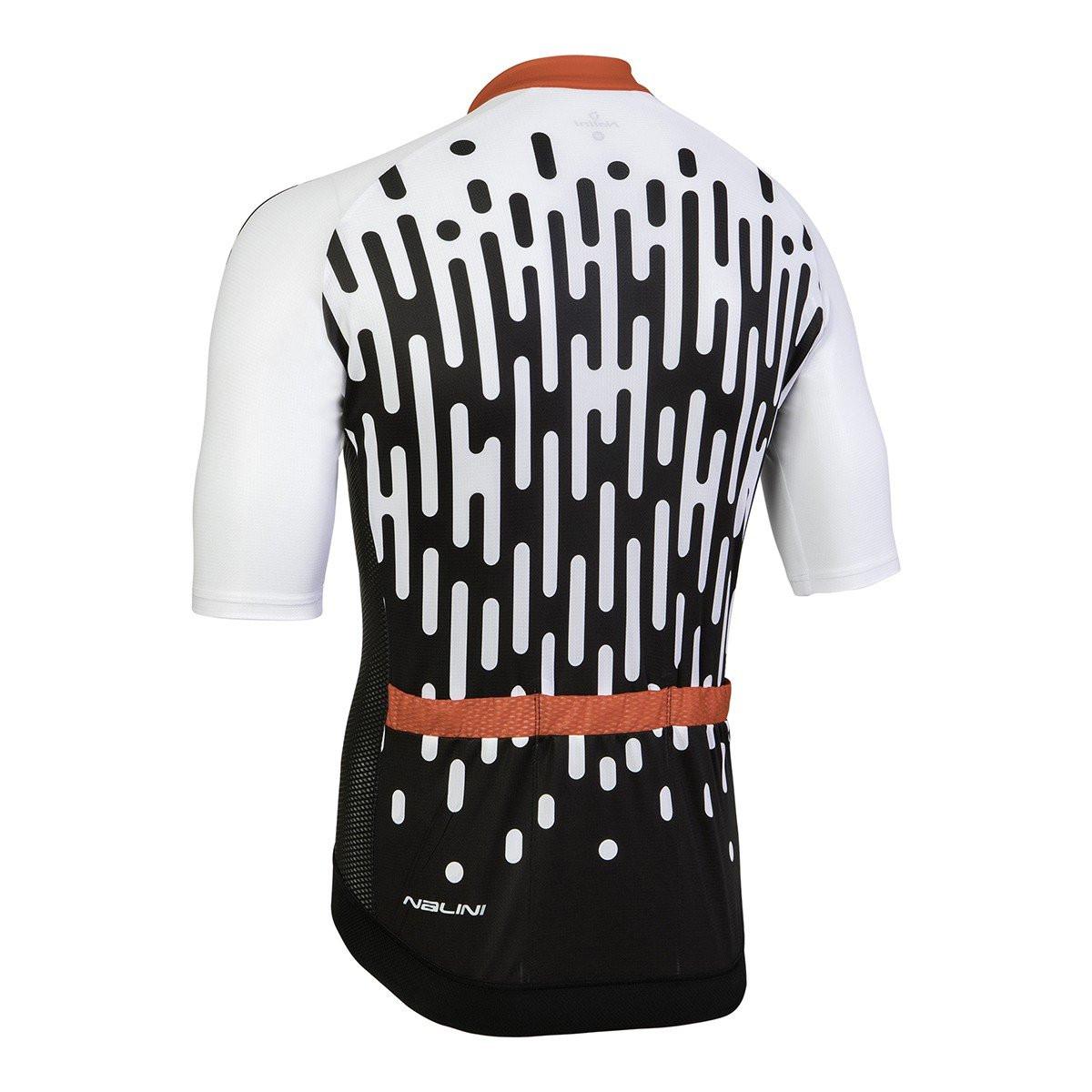 Nalini Podio White Black Jersey Rear