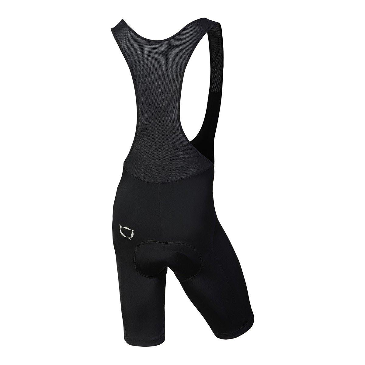 Nalini Squadra Black Bib Shorts Rear
