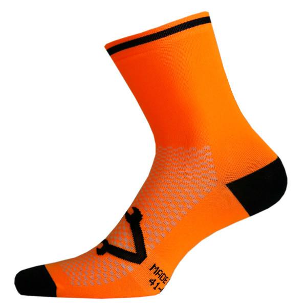 Nalini Lampo Orange Socks