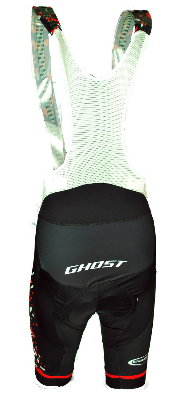 2018 Ghost Racing Bib Shorts Rear