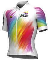 ALE' Multicolor White Women's Jersey