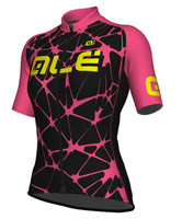 ALE' Cracle Solid Pink Women's Jersey