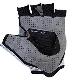 Nalini Vetta Gray Mesh 4000 Gloves Rear
