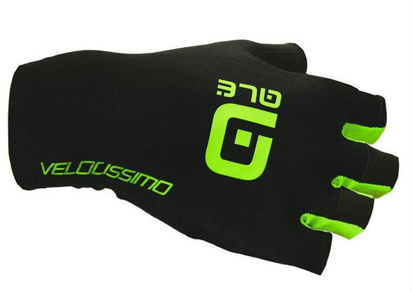ALE Velocissimo Crono Black Summer gloves