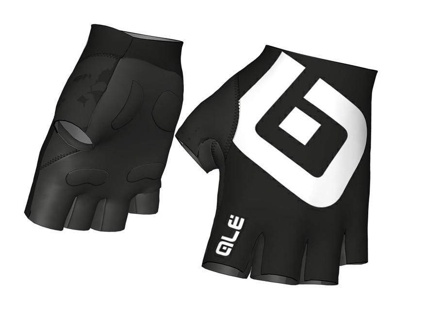 ALE Air Gloves White Black Gloves