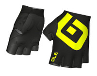 ALE Air Gloves Yellow Fluo Black Gloves