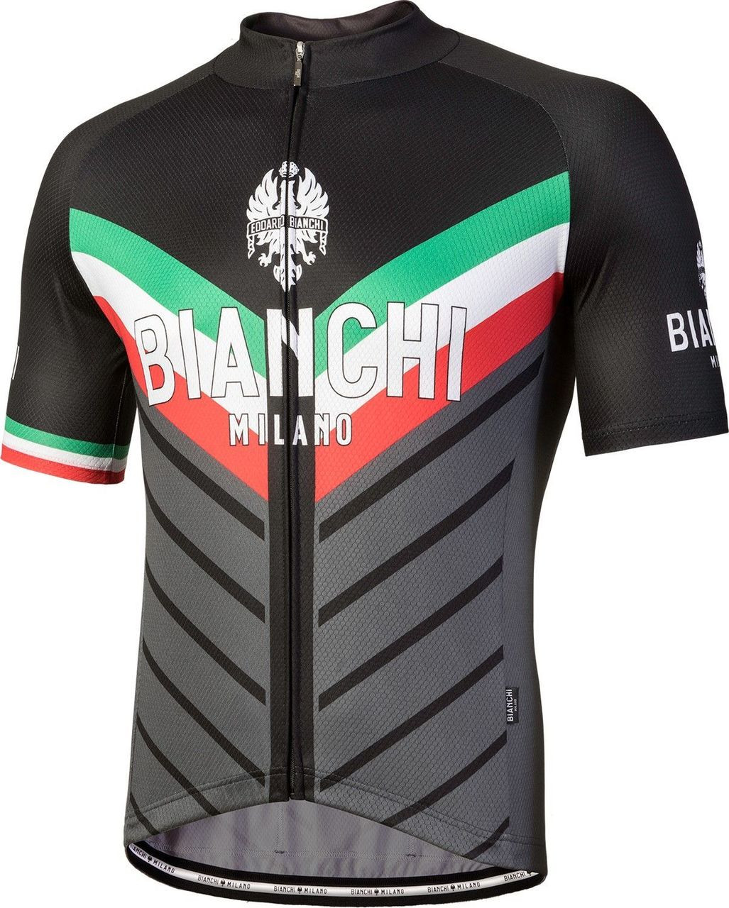 Bianchi Milano Tiera Black Jersey
