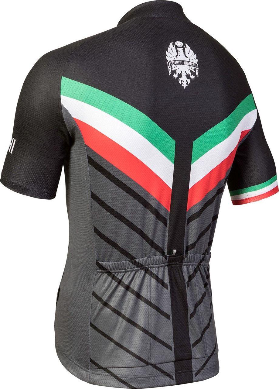 Bianchi Milano Tiera Black Jersey Rear