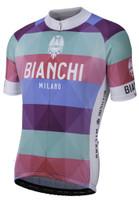 Bianchi Milano Aviolo Stripped Jersey