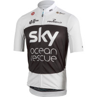 2018 Sky TDF Ocean Rescue Podio Full Zip Jersey Includes the rare jersey