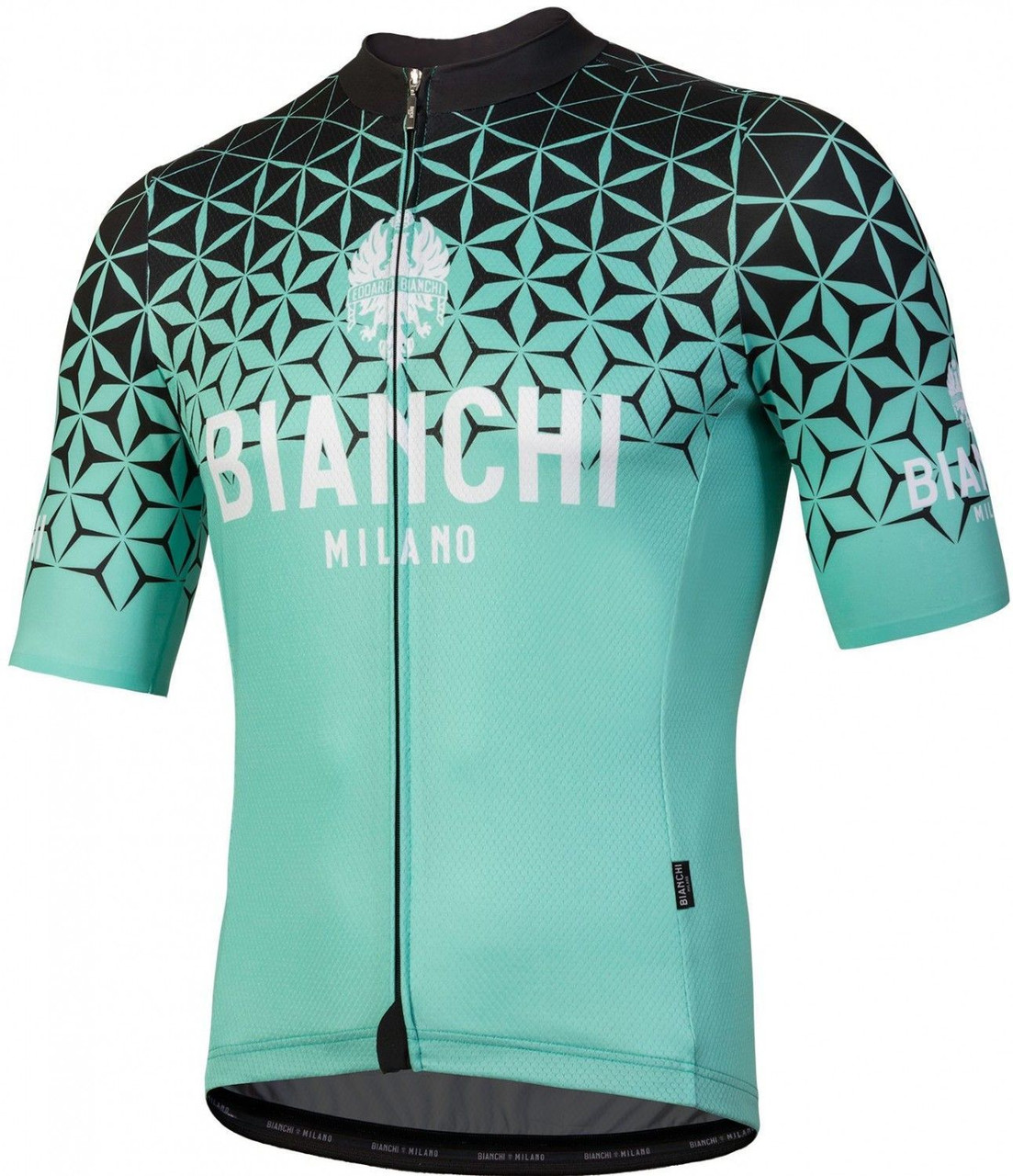 Bianchi Milano Conca Black Green Jersey